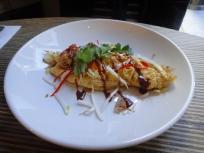 Prawn and Shitake Omelette