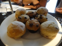 Chocolate Chip Muffins and Scones