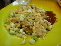 Chye Tau Kueh [Pan Fried Turnip Cake] (White)