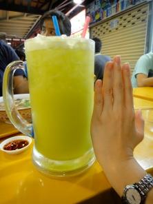 Humongous SUGAR CANE juice :)