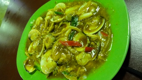 Sambal Clams