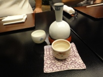 Sake to celebrate the occasion