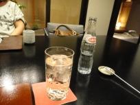 umeshu and soda -too wierd a combination