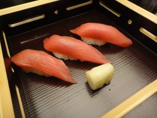 Maguro Sushi -Best maguro i ever eaten! super shioks like a fish sliding down your throat