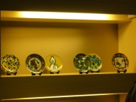 Love these colourful Japanese plates