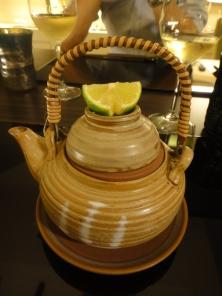 Dish #2: Obinmushi - otherwise known as teapot soup
