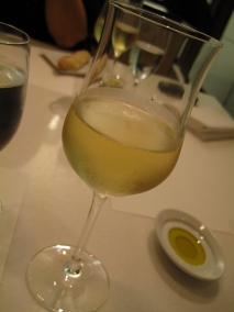 my white wine to start off