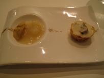 Chanterelle, Portobello and dehydrated mesclun and winter black truffle