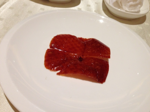 Duck Breast skin ( to be dipped with sugar)