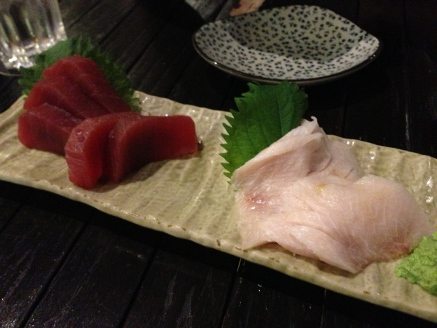 Tuna and Sword fish (Meikajiki) Sashimi