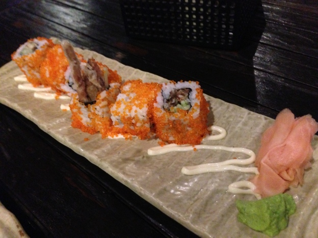 Spider (Soft Shell Crab) roll