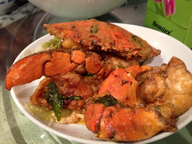 Salted Egg Yolk Crab