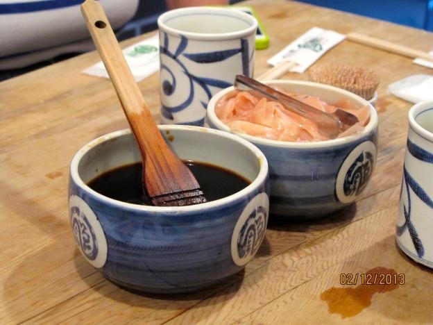 Shouyu (Soya Sauce) and Pickled Ginger