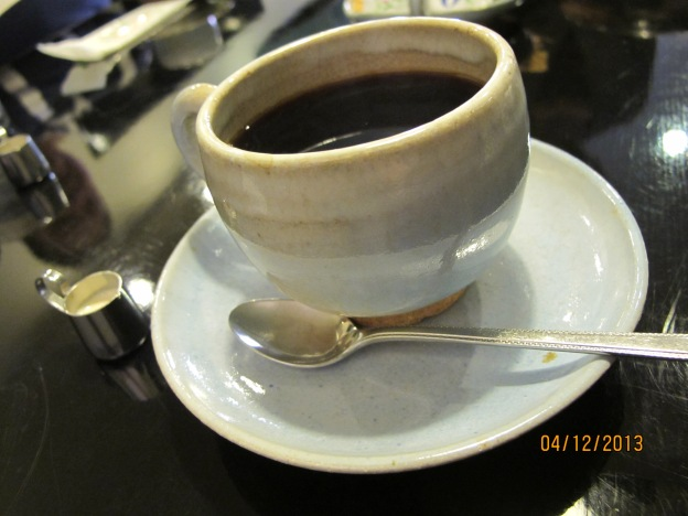 Coffee ( love the cup)