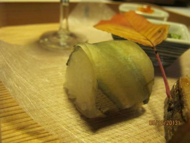 Sliced Preserved sayori Sushi