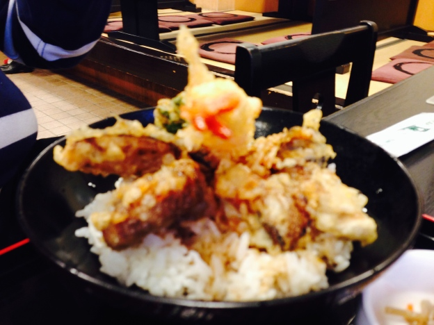 Ten Don (Assorted Tempura on Rice)