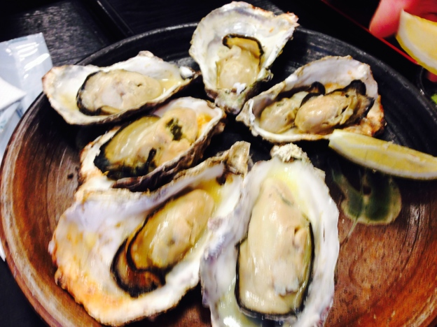 Grilled Oyster in Shio (Salt)