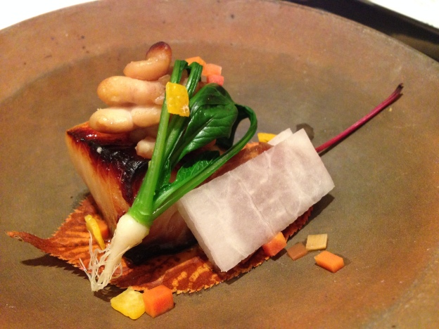 #5: Grilled Shirako (Sperm of whale) and Miso Cod fish