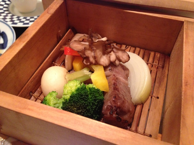 #9: Steamed Beef with Vegetables