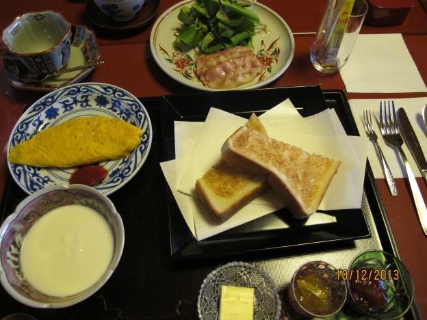 #1: American breakfast :)
