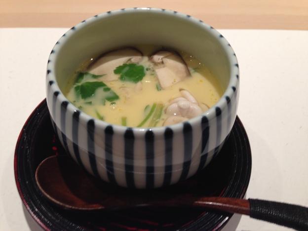 #3: Shirako chawanmushi (Sperm Steam Egg)