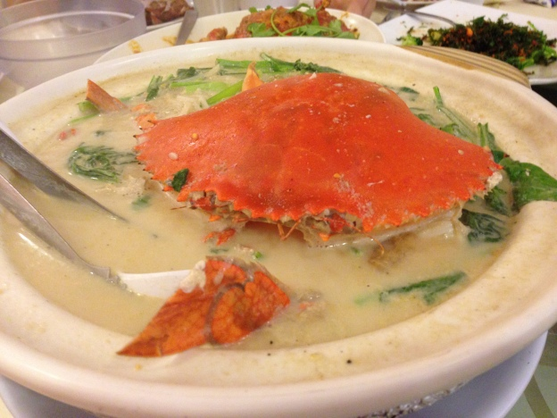 Crab Bee Hoon Soup