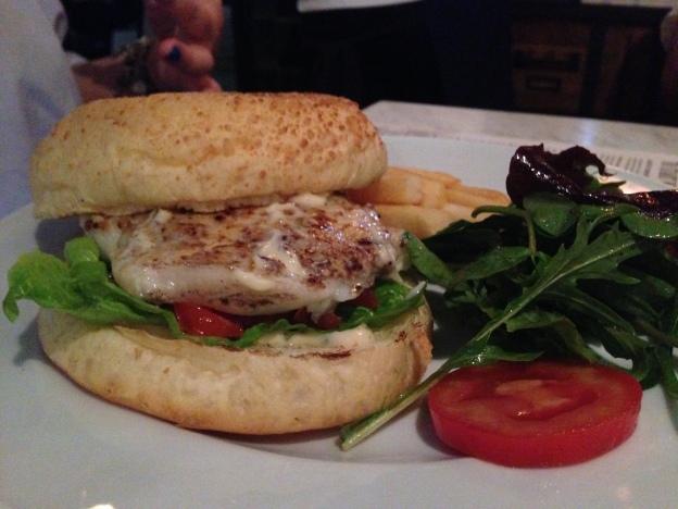 Cod Fish Burger