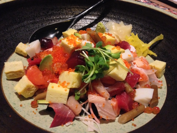Chirashi(Assorted Mixed Raw Fish) Rice