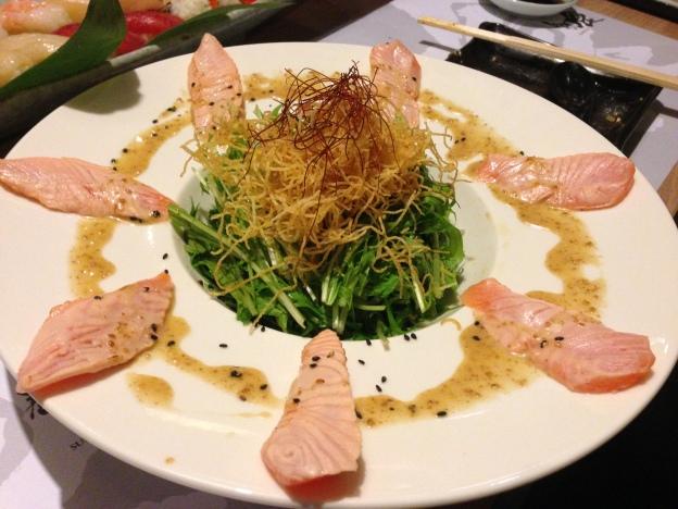 Aburi Salmon Salad