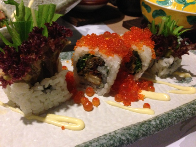 Spider Roll (Softshell Crab)