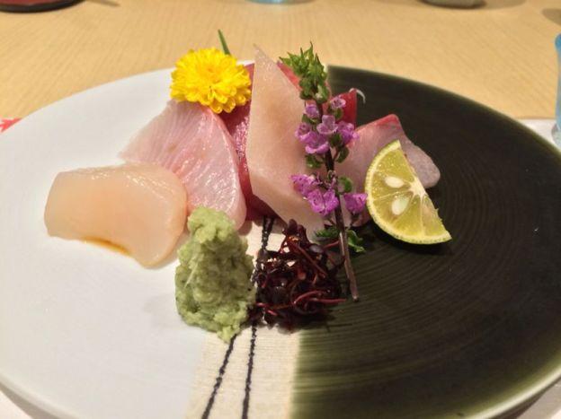 Assorted Sashimi (without prawns)