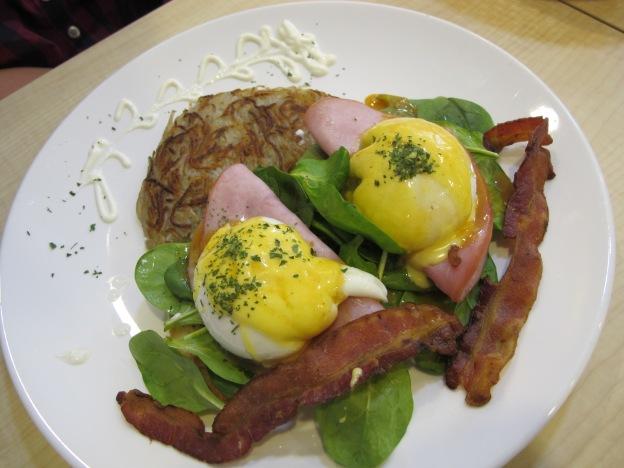 Italia Eggs Benedict Doppie