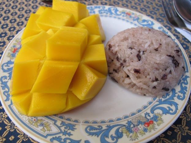 Mango and Sticky Purple Rice