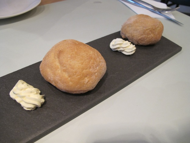 Home made bread and  butter