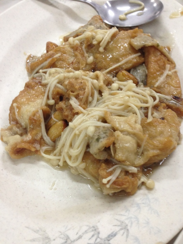 Beancurd Sheets with home made fish cake